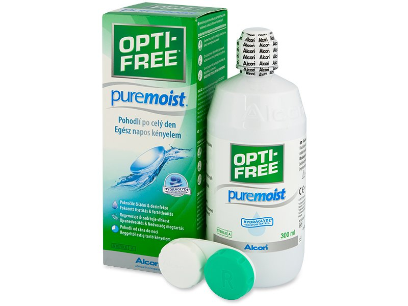 Разтвор OPTI-FREE PureMoist 300 ml