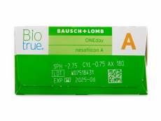 Biotrue ONEday for Astigmatism (90 лещи)