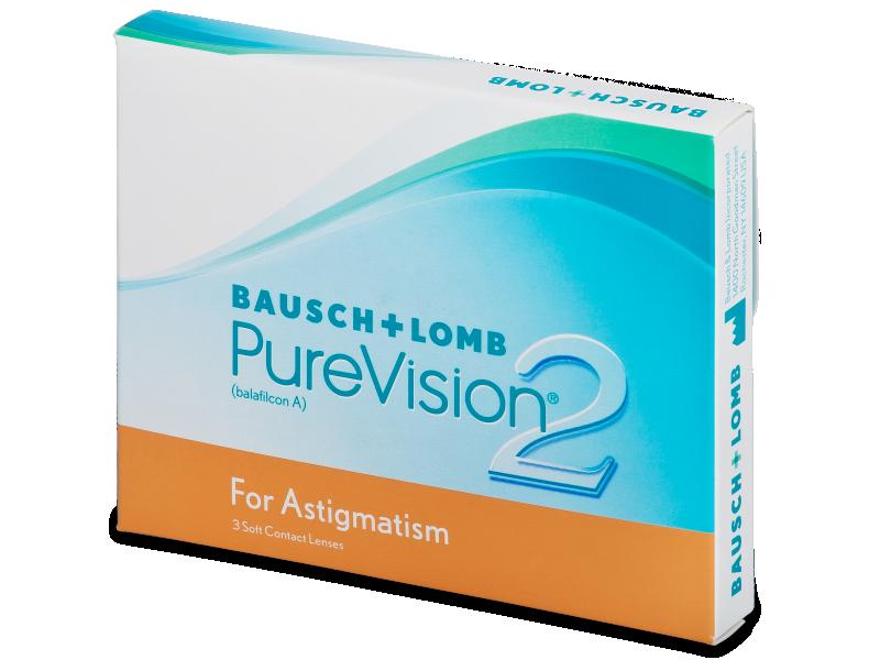PureVision 2 for Astigmatism (3лещи)