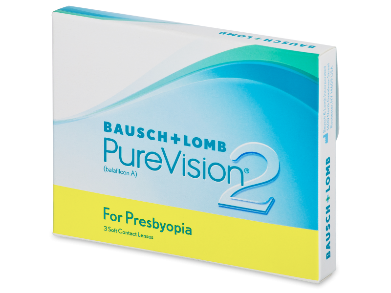 PureVision 2 for Presbyopia (3 лещи)
