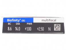 Biofinity Multifocal (6лещи)