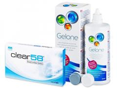 Clear 58 (6лещи) +разтворGelone360ml