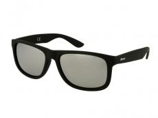 Слънчеви очила Alensa Sport Черно сребро огледални