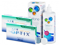 Air Optix for Astigmatism (2x3 лещи) + разтвор Gelone 360ml
