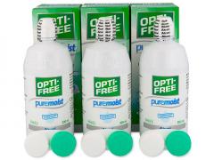 Разтвор Opti-Free PureMoist 3 x 300ml