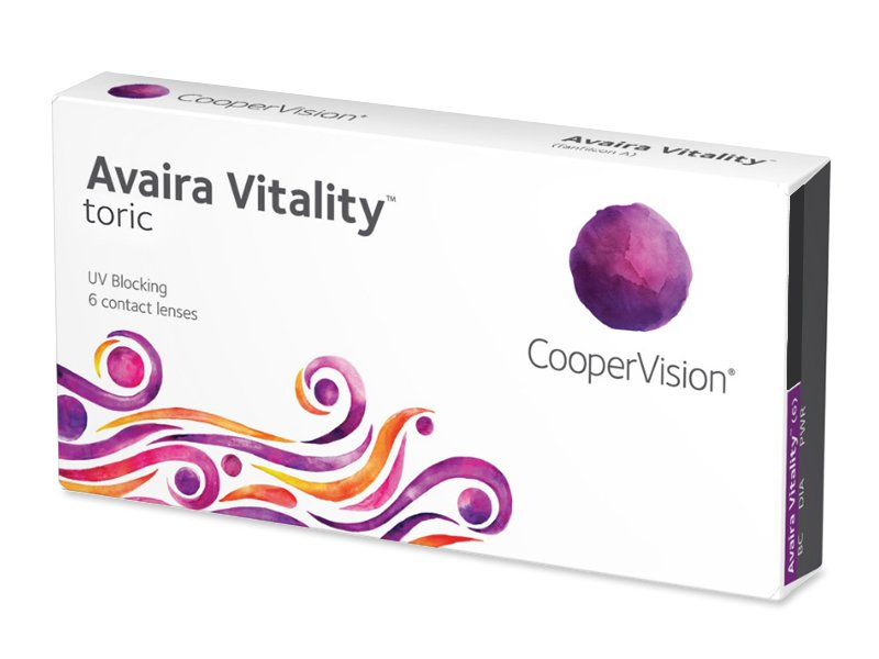 Avaira Vitality Тоric (6 лещи)