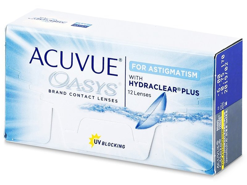Acuvue Oasys for Astigmatism (12лещи)