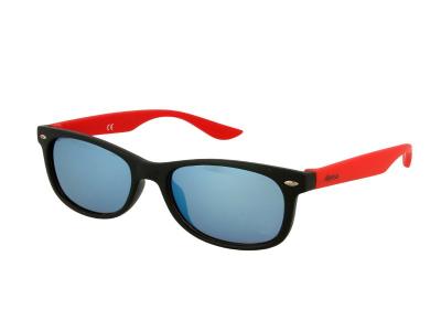 Детски слънчеви очила Alensa Sport Черно-червено огледални