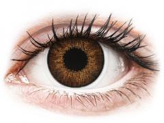 Кафяви (Brown) - Air Optix Colors - с диоптър (2лещи)