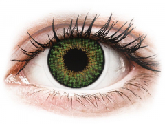 Зелени (Green) - Air Optix Colors - с диоптър (2лещи)