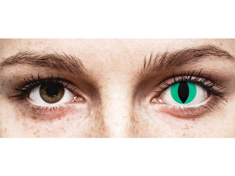 ColourVUE Crazy Lens - Anaconda - без диоптър (2 лещи)