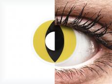 ColourVUE Crazy Lens - Cat Eye - без диоптър (2 лещи)