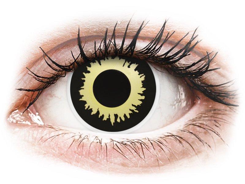 ColourVUE Crazy Lens - Eclipse - без диоптър (2 лещи)