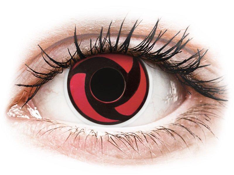 ColourVUE Crazy Lens - Mangekyu - без диоптър (2 лещи)