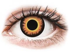 ColourVUE Crazy Lens - Orange Werewolf - без диоптър (2 лещи)