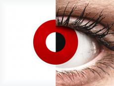 ColourVUE Crazy Lens - Red Devil - без диоптър (2 лещи)