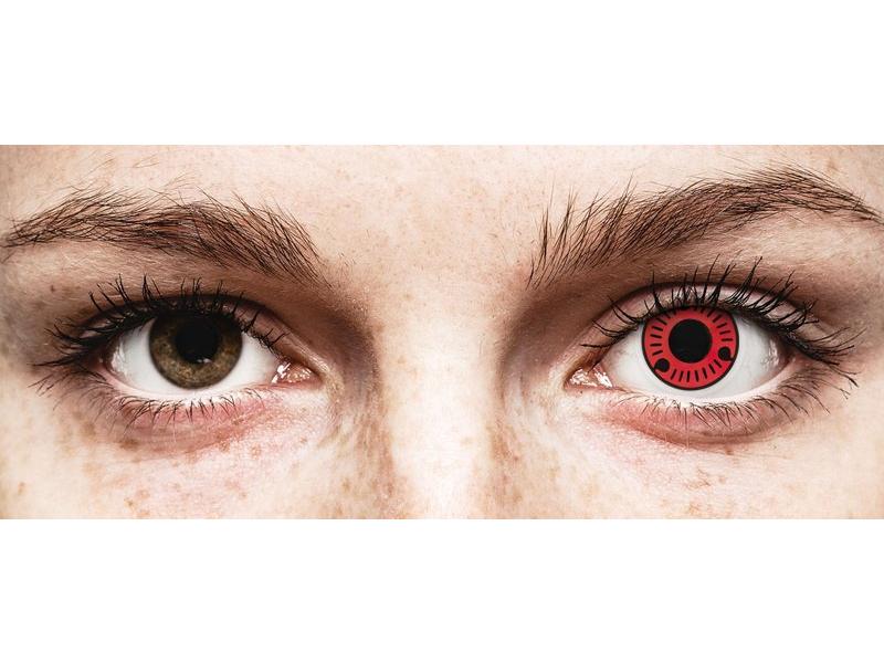 ColourVUE Crazy Lens - Sasuke - без диоптър (2 лещи)