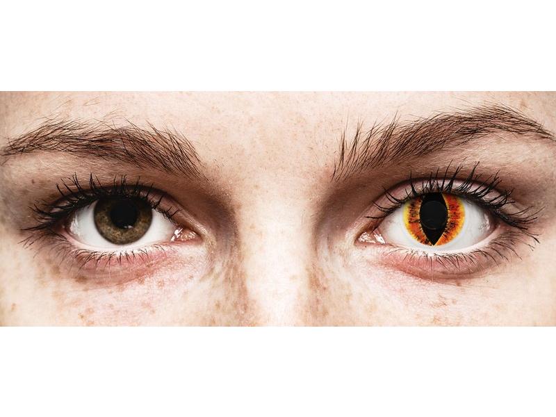 ColourVUE Crazy Lens - Saurons Eye - без диоптър (2 лещи)