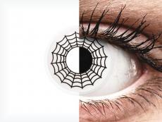 ColourVUE Crazy Lens - Spider - без диоптър (2 лещи)
