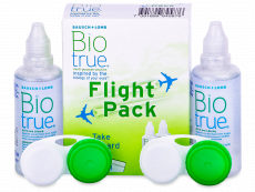Разтвор Biotrue Flight Pack 2 x 60 ml