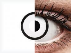 ColourVUE Crazy Lens - White Zombie - без диоптър (2 лещи)