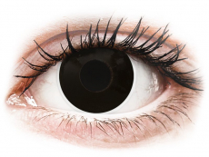 ColourVUE Crazy Lens - BlackOut - с диоптър (2 лещи)