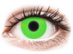 ColourVUE Crazy Glow Green - без диоптър (2лещи)