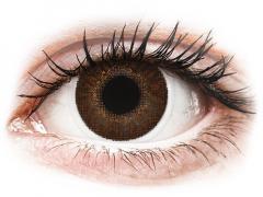 Кафяви (Brown) - TopVue Color - с диоптър (2лещи)