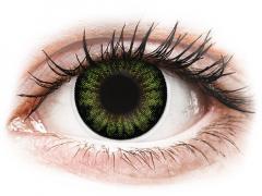 ColourVUE BigEyes Party Green - без диоптър (2лещи)