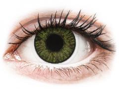 FreshLook ColorBlends Green - с диоптър (2 лещи)