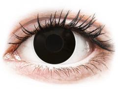 ColourVUE Crazy Lens - Blackout - дневни без диоптър (2 лещи)