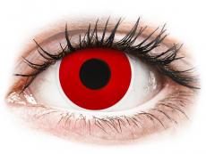 ColourVUE Crazy Lens - Red Devil - дневни без диоптър (2 лещи)
