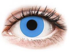 ColourVUE Crazy Lens - Sky Blue - дневни без диоптър (2 лещи)