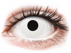 ColourVUE Crazy Lens - Whiteout - дневни без диоптър (2 лещи)