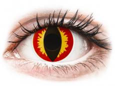 ColourVUE Crazy Lens - Dragon Eyes -  без диоптър (2 лещи)