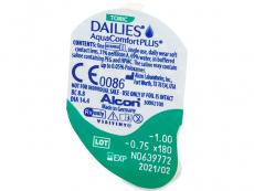 Dailies AquaComfort Plus Toric (90лещи)
