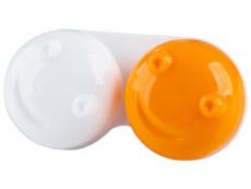 Кутийка за лещи 3D - оранжева