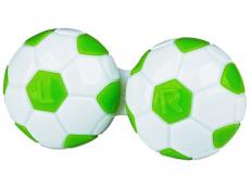 Кутийка за лещи Футболна - зелена
