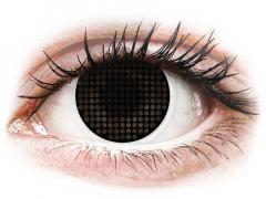 ColourVUE Crazy Lens - Black Screen - без диоптър (2 лещи)