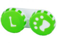 Кутийка за лещи Paw зелена