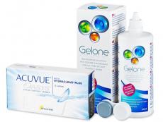 Acuvue Oasys (12 лещи) + разтвор Gelone 360 ml