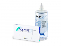 Acuvue 2 (6 лещи) + разтвор Laim-Care 400 ml