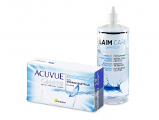 Acuvue Oasys for Astigmatism (12 лещи) + разтвор Laim-Care 400 ml