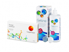 Proclear Multifocal (6 лещи) + разтвор Gelone 360 ml