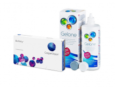 Biofinity (3 лещи) + разтвор Gelone 360 ml