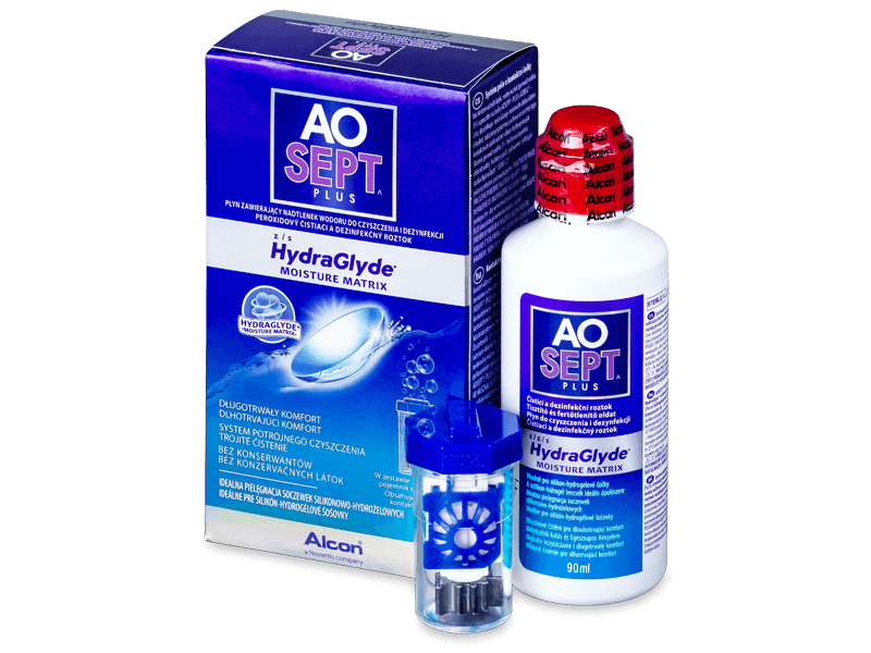 Разтвор AO SEPT PLUS HydraGlyde 90 ml