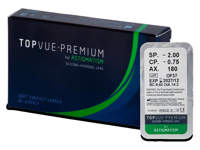 TopVue Premium for Astigmatism (1 леща)