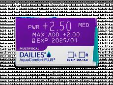 Dailies AquaComfort Plus Multifocal (90лещи)