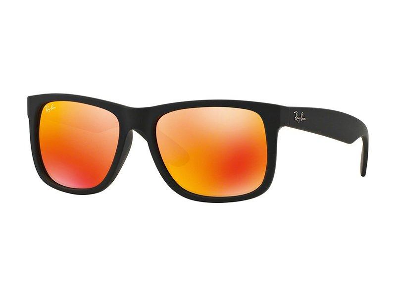 Слънчеви очила Ray-Ban Justin RB4165 - 622/6Q с червени стъкла