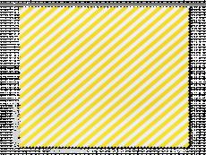 Почистваща кърпа за очила - жълти и бели райета